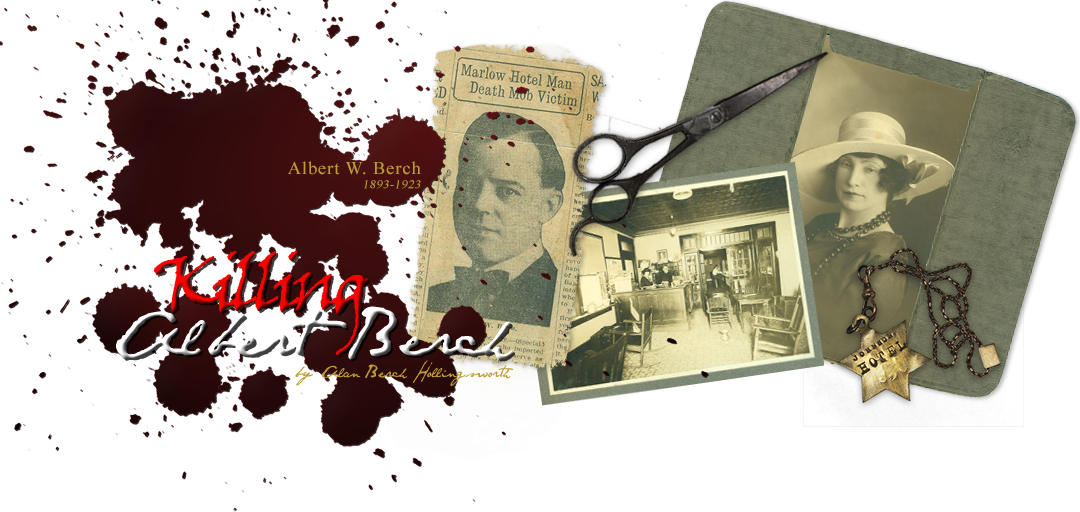 Killing Albert Berch Retina Logo